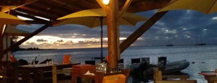 Moorea Beach Cafe is one of Orte, die Chris gefallen.