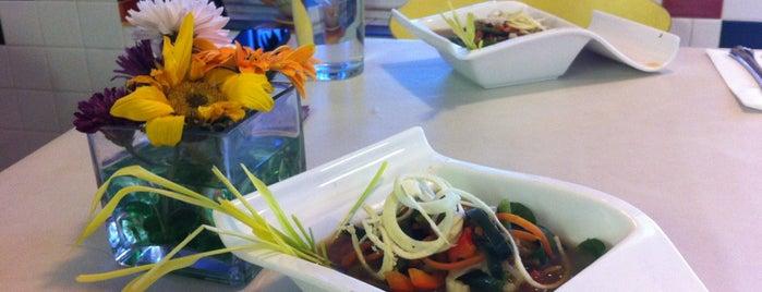 Pura Vida Bakery & Bystro is one of My favorites Vegetarian / Vegan Places.