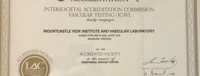 Mountcastle Plastic Surgery & Vein Institute is one of Best of Ashburn.