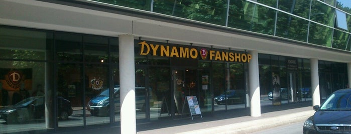 Dynamo-Fanshop is one of Locais curtidos por Денис.