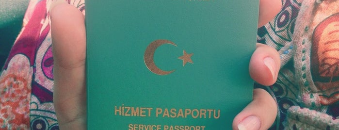 Pasaport Şube Müdürlüğü is one of 🌜🌟hakan🌟🌛 님이 좋아한 장소.
