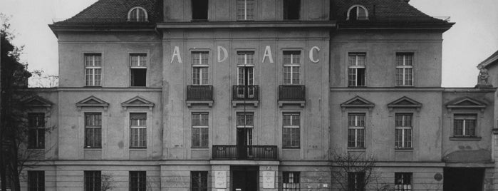 Haus der Kunst is one of 110 Jahre ADAC.