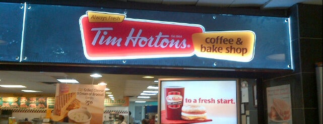 Tim Hortons is one of Marioさんのお気に入りスポット.
