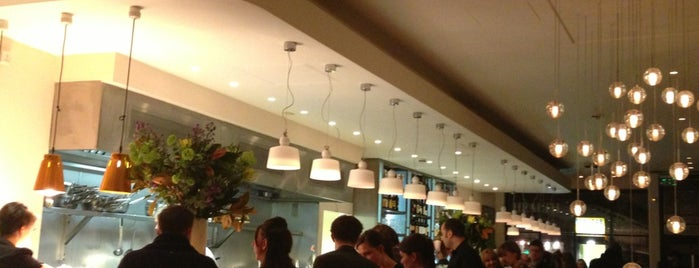 Bocca Di Lupo is one of London places to eat.