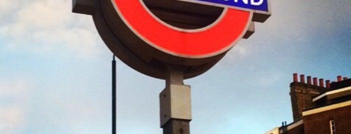 Pimlico London Underground Station is one of LDN (Aug'14).