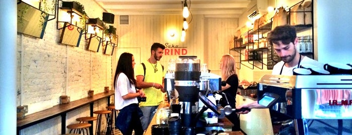 Soho Grind is one of Coffee London.