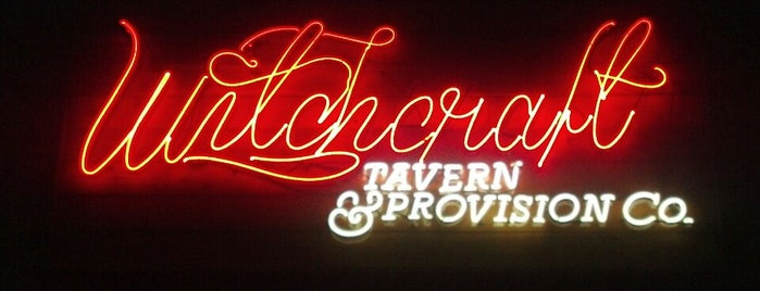 Witchcraft Tavern & Provision Co. is one of Eat Houston.
