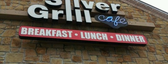 Silver Grill Cafe is one of Places to Eat.