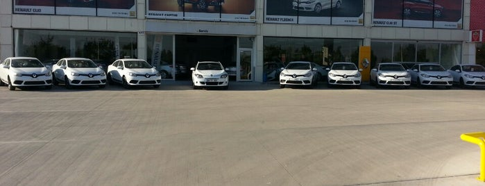 Net Grup Renault is one of Kerim: сохраненные места.