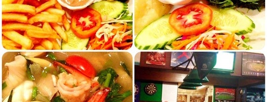 Pelican grill and bar is one of ตะลอนชิม.