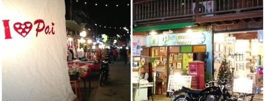 ถนนคนเดินปาย is one of ตะลอนชิม.