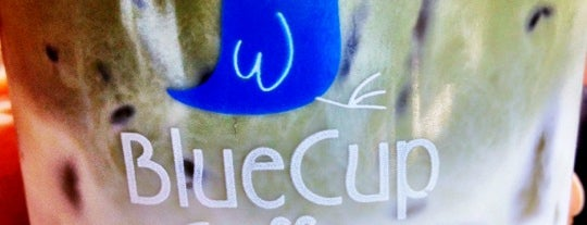Blue Cup Coffee is one of ตะลอนชิม.