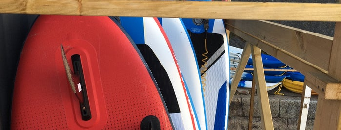 WeSup Paddleboard Centre is one of Cornwall.