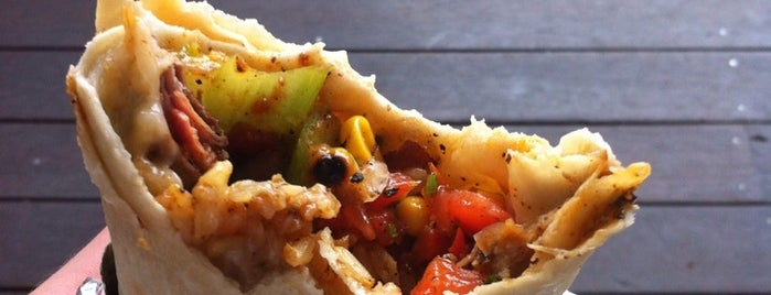 The Corner Store is one of 40 Must-Try Burritos.