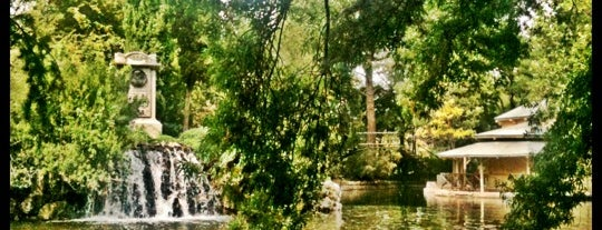 Parque de El Capricho is one of Locais curtidos por Evan.
