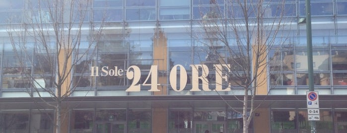 Il Sole 24 Ore is one of Guide to Milan's best spots.