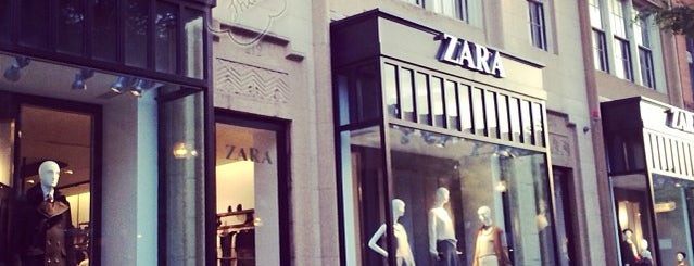 Zara is one of Must-visit Clothing Stores in Boston.