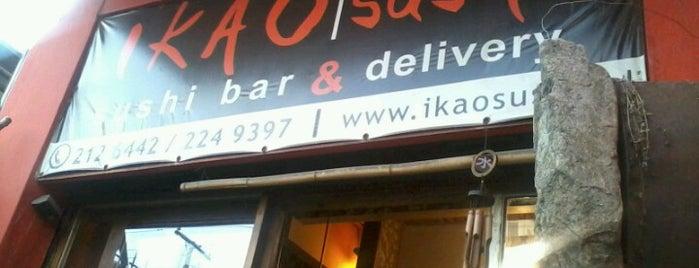 Ikao Sushi is one of Gespeicherte Orte von Agustin.
