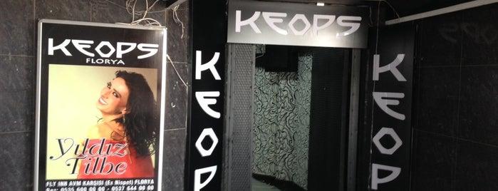 Keops Club Florya is one of Gökçe'nin Beğendiği Mekanlar.