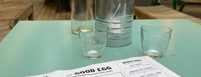 The Good Egg is one of London 2019.