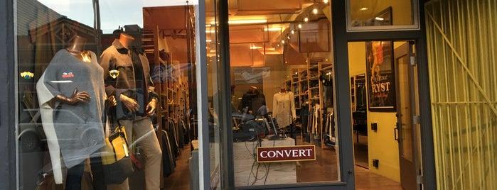 Convert is one of Lugares favoritos de Brad.