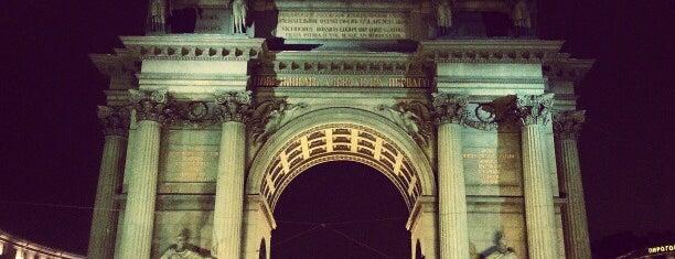 Narva Triumphal Arch is one of Интересный Питер.
