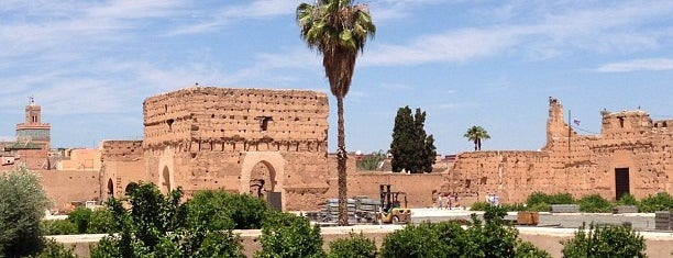 Palais El Badii is one of The world outside of NY and London pt. 2.