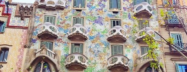 Casa Batlló is one of Barcelona Weekender.