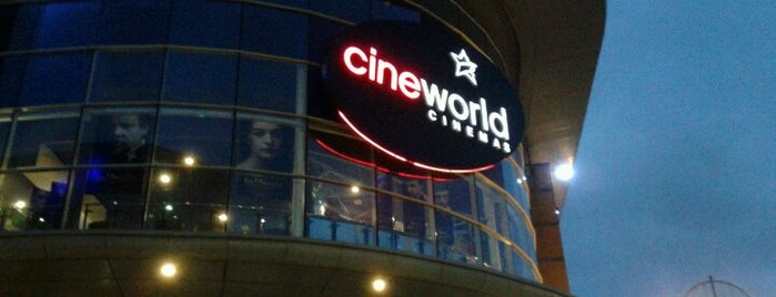 Cineworld is one of Tempat yang Disukai Dafydd.