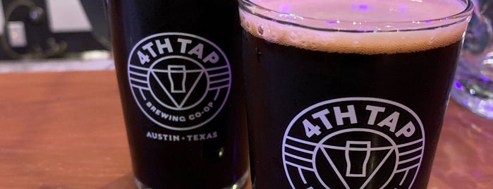 4th Tap Brewing Cooperative is one of Austin Explorations.