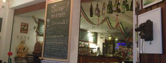 Ciao! Vino & Birra is one of Pizzaria/Italiano.