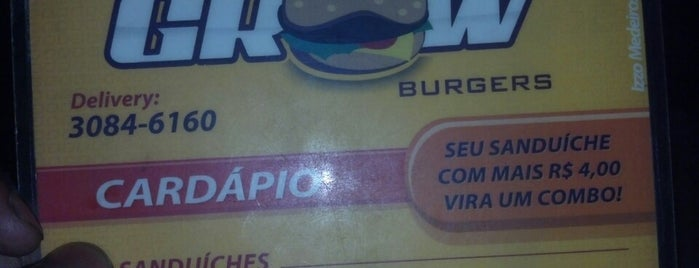 Mr Grow Burguers is one of restaurantes.