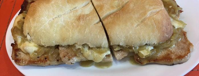 Mendoza Sandwich is one of Sanguches.