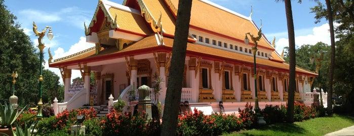 Wat Mongkolratanaram Buddhist Temple is one of Tierra Verde.