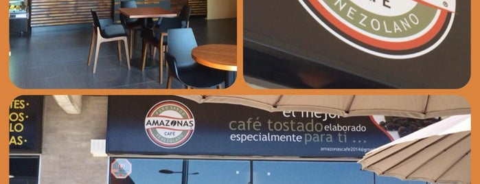 Amazonas Café is one of Venezuela en Chile.