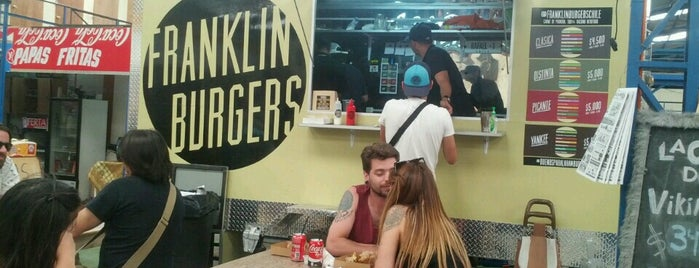 Franklin Burgers is one of Lugares favoritos de Evander.