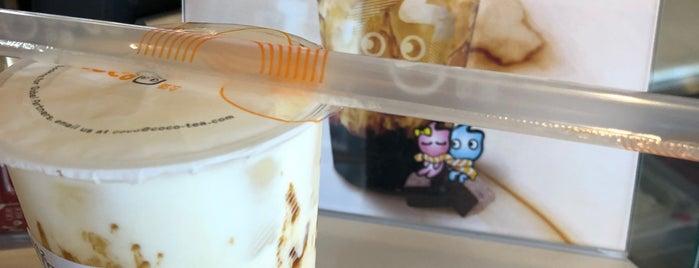 CoCo Fresh Tea & Juice is one of Lugares favoritos de Mei.