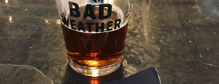 Bad Weather Brewing Company is one of Brent 님이 저장한 장소.
