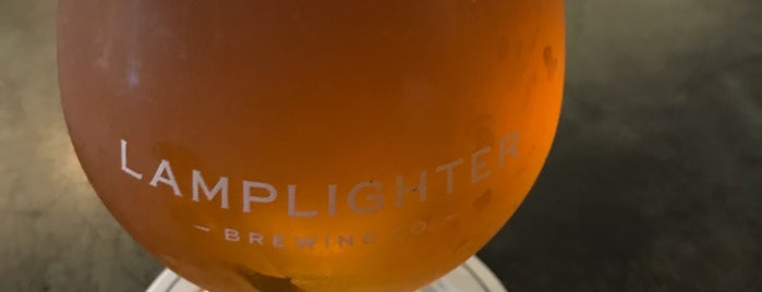 Lamplighter Brewing Co. is one of Boston To-Do List.