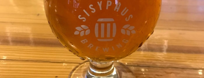 Sisyphus Brewing is one of Elvira Canaveral PINCOMBO.COM : понравившиеся места.