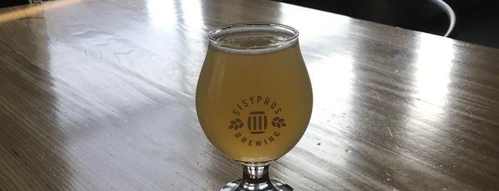 Sisyphus Brewing is one of สถานที่ที่บันทึกไว้ของ Adam.