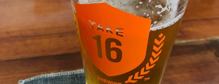 Take 16 Brewing Company is one of Tap Rooms / Breweries in the Greater MN Area.