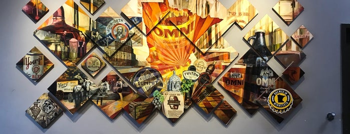 Omni Brewing Co is one of Lieux qui ont plu à Kristen.