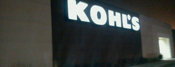 Kohl's is one of Locais curtidos por Chad.