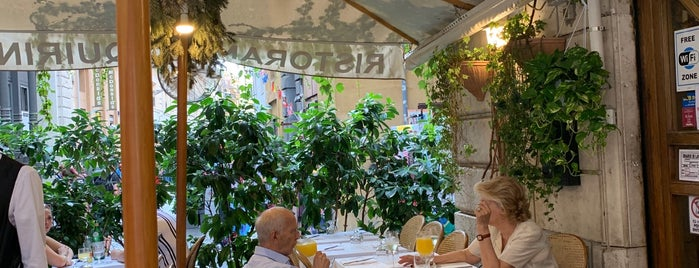 Ristorante Quirino is one of Lugares favoritos de Alessandra.