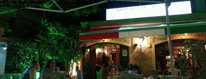 O Sole mio is one of Corfu.
