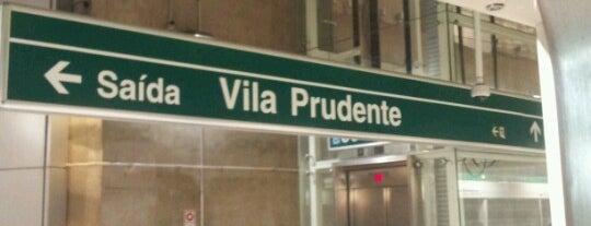 Terminal Vila Prudente is one of Locais curtidos por Naldina.