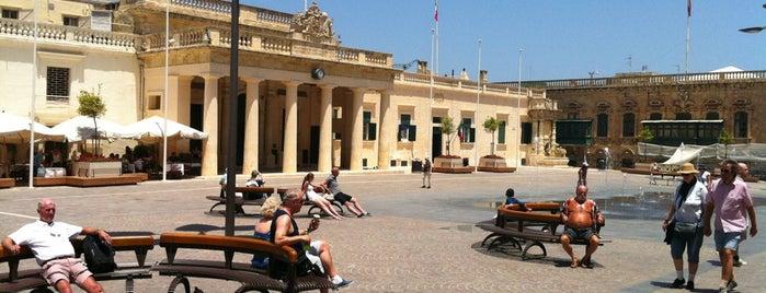 St. George's Square | Misraħ San Ġorġ is one of VISITAR Malta.