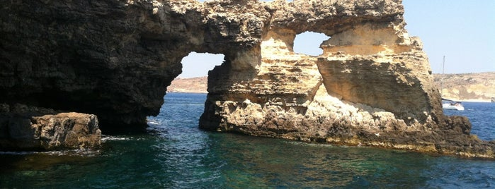 Comino is one of Italy.