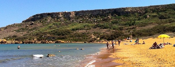 Ramla Bay is one of MaLta.